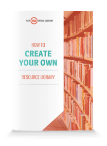 Create your own Resource Library