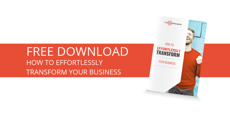 How to effortlessly transform your business [free download]