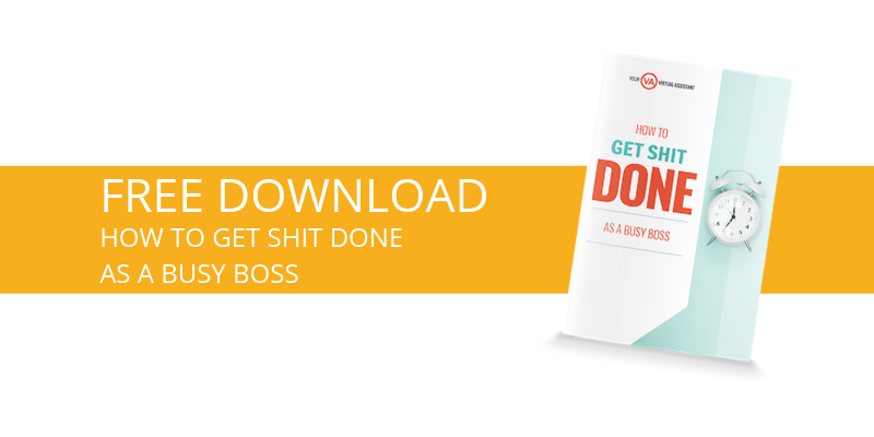 How to get shit done as a busy boss [free download]