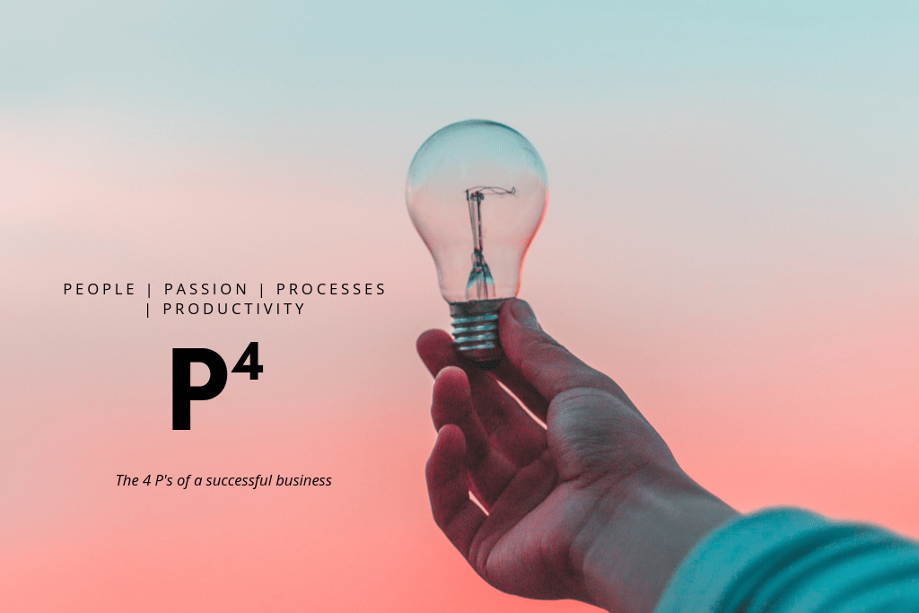 The four Ps in business