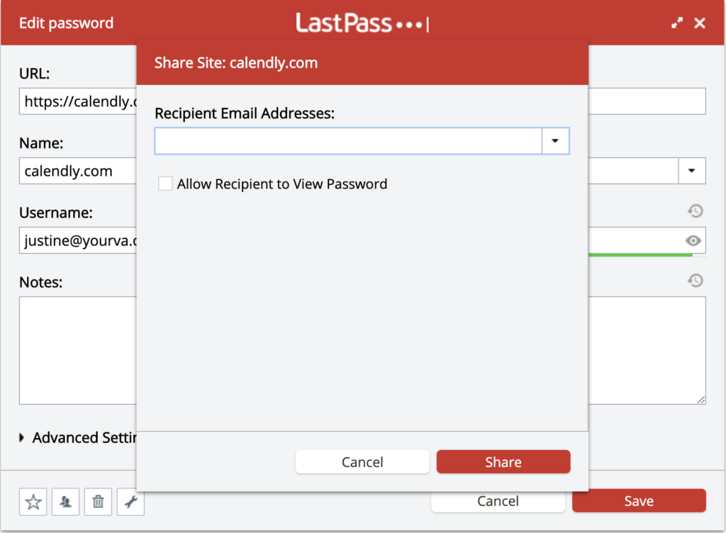 LastPass makes secure sharing easy for teams