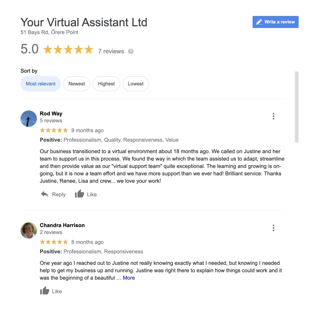 Use customer reviews to promote your product or service