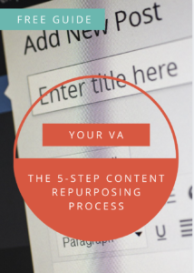 The 5-Step content repurposing process