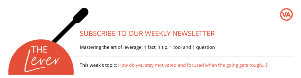 Subscribe to The Lever for weekly tips