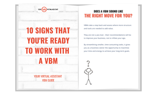 10 signs you're ready to work with a virtual business manager