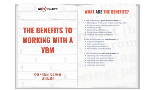 Benefits of working with a virtual business manager