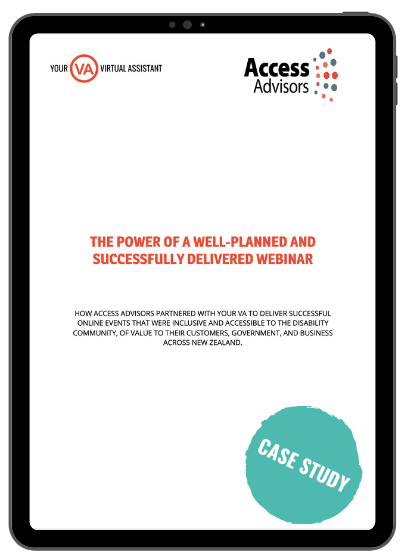 THE POWER OF A WELL-PLANNED AND SUCCESSFULLY DELIVERED WEBINAR